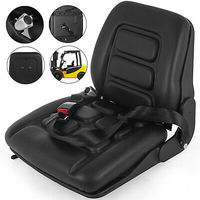 Forklift Suspension Seat with Auto Seat Lock&Seat Belt Economy Tractor Vinil