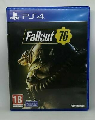 Fallout 76 - PS4 Playstation 4. Used in Very Good Condition
