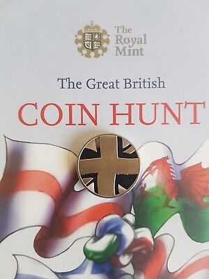 £1 one pound Completer Medallion 1st Edition Coin Hunt Album Royal Mint 99p NR