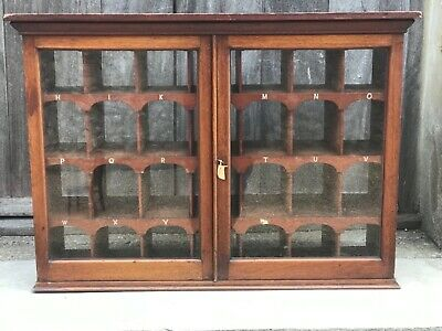 Ultra rare Antique Victorian provincial post office pigeon holes