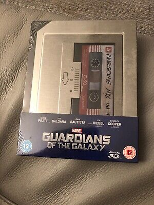 steelbook guardians of the galaxy Sous-blister Blu-ray 3D