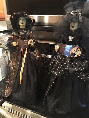 Pier 1 Witches (set of 2) Potions and Spells Lucretia LaBoo