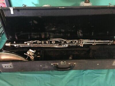 Vintage Selmer Bundy Bass Clarinet S/N 38137 With A Vito II Mouthpiece