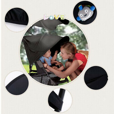 Universal Baby/Child Pushchair Stroller Pram Buggy Sun Shade Canopy Cover E7W4A