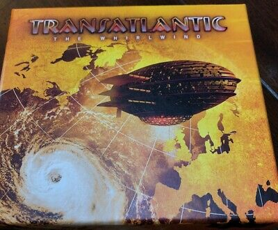 TRANSATLANTIC - THE WHIRLWIND Cd Deluxe Marillion Dream Theater Rush Winery Dogs