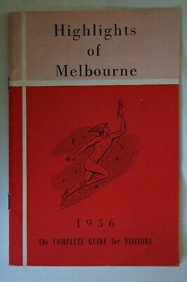 Olympic Games Collectable 1956 Melbourne Vintage Games Highlights of Melbourne