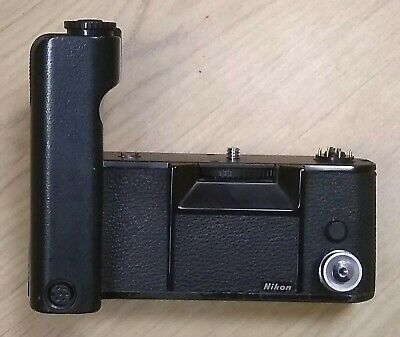 Nikon MD-4 Motor Drive For Nikon F3 + Shutter Release MR-3