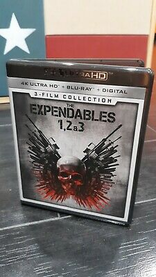 The Expendables: 3-Film Collection (4K Ultra HD Blu-ray) ***No Digital