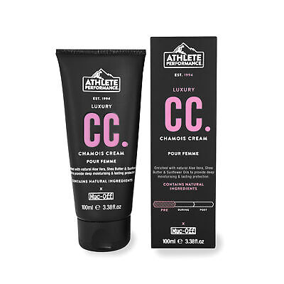 Cycling Body Care Muc-Off Athlete Performance Ladies Chamois Cream 100ml Black
