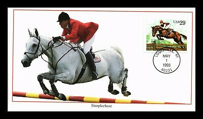 Dr Jim Stamps Us Steeplechase Sporting Horses First Day Cover Louisville