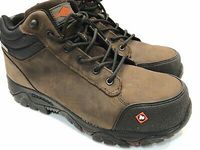 3465f67655081 Merrell Men Moab Rover Mid Waterproof Comp Toe Work Boot Size 10.5 M