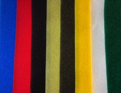 VELCRO® Genuine Brand - Sew On - 1mt X 2cm (20mm) - Choose Your Colour - New