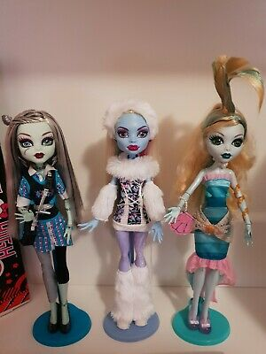 Monster High Dolls bulk in excellent condition