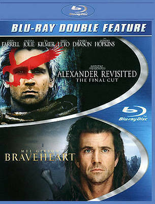 Braveheart / Alexander Revisited Blu-ray Double Feature *** FREE SHIPPING ****