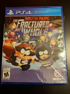South Park The Fractured but Whole PS4 (Sony PlayStation 4, 2017) BRAND NEW