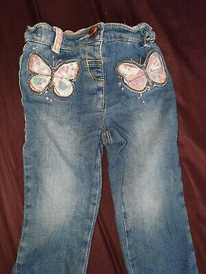 Next Jeans Girls Toddlers Kids 9-12 Months