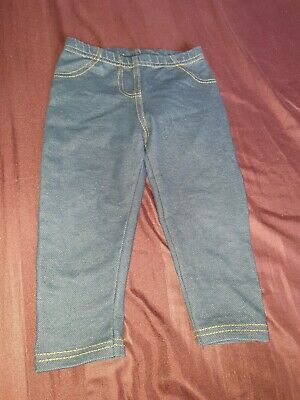 Primark Kids Girls Boys Toddlers Jeans Leggings Dark Blue 9-12 Months