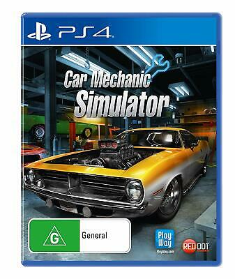 Car Mechanic Simulator Sony PS4 Playstation 4 Car Workshop Test Drive Sim Game