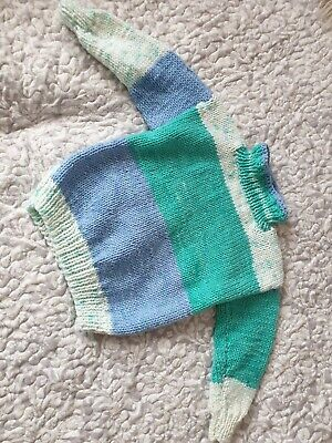 Hand Made Crochet Unisex Sweater For Kids
