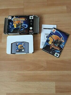 * Castlevania * Boxed With Manual Nintendo 64 - N64 - PAL Game