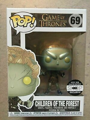 Funko Pop #69 Game Of Thrones Metallic Children Of The Forest