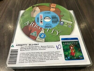 Arrietty (Blu-ray, 2012) DISC ONLY