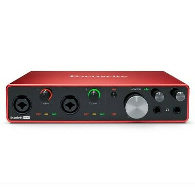Focusrite ISA 828 Eight Channel Mic Pre And Optional A-D
