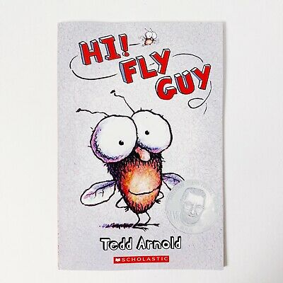 Hi! Fly Guy By Tedd Arnold Scholastic Childrens Illustrated Story Book Paperback