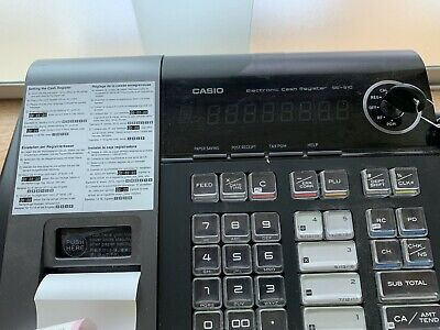 Casio SE-S10 Electronic Cash Register - Black