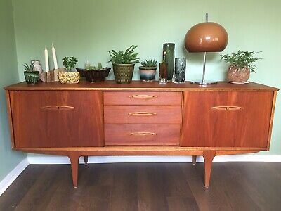 Vintage Retro Mid Century Teak Sideboard by Jentique 6ft