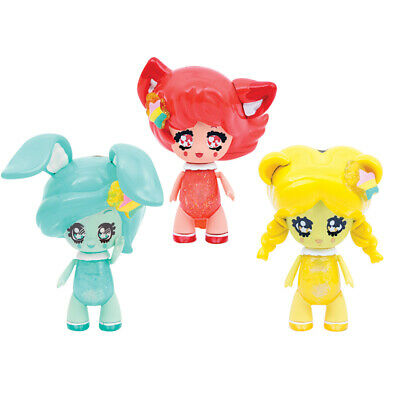 Glimmies Rainbow amis Double Twin 2 Figure Pack-castorinda et Abella