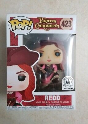 Funko POP!  REDD  Pirates of The Caribbean Disney Parks Exclusive SOLD OUT