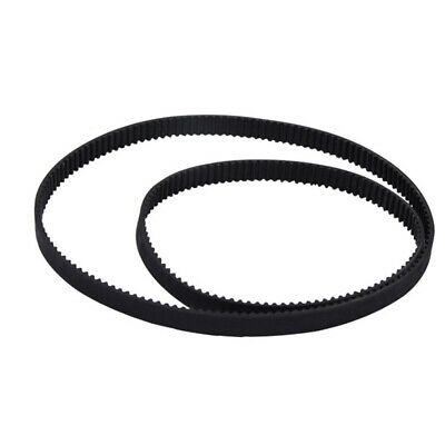 Round 3D Printer 2mm Pitch Synchronous Belt Rubber Closed Loop 6mm Wide Durable