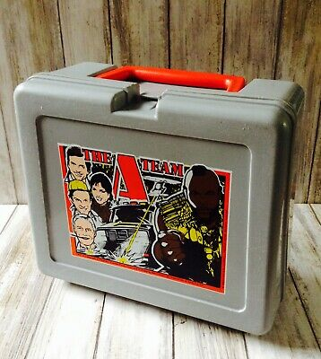 Rare Collectable The A Team Bluebird 1981 Original Lunch Box With Thermos Flask
