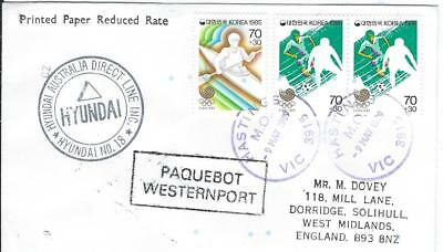 Westernport Paquebot Cover
