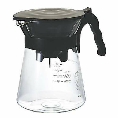 Hario V60 Coffee Server 02 Drip in 1 To 4 Cups VDI-02B ship from japan