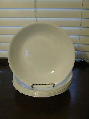 8 Corelle Winter Frost White Soup Pasta Bowls 8-1/2""
