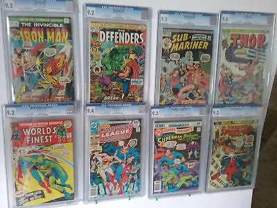 **Superb Amazing Lot of 50 Comics + 1 Graded Comic - Modern To Vintage**