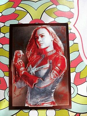 Card Panini Marvel Avengers Road To End Game C29