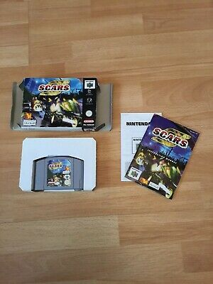 * Scars * Nintendo 64 N64 * S.C.A.R.S. * Game Boxed with manual