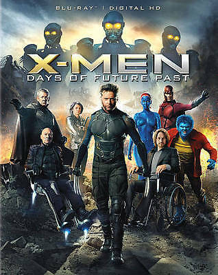 X-Men: Days of Future Past (Blu-ray Disc, 2014, Includes Digital Copy) Complete!