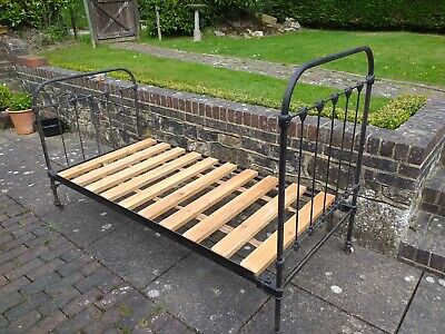French metal bed frame