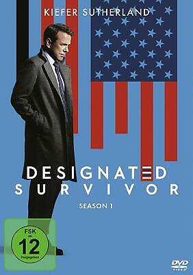 Designated Survivor - Season 1 [6 DVD's/NEU/OVP] Packender Polit-Thriller über e