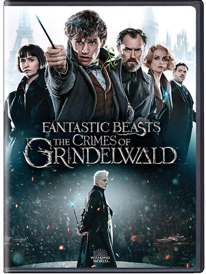 Fantastic Beasts: The Crimes Of Grindelwald (DVD New, 2019)