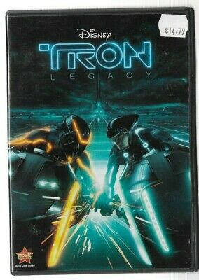 Sealed New DVD Movie - WALT DISNEY - TRON LEGACY