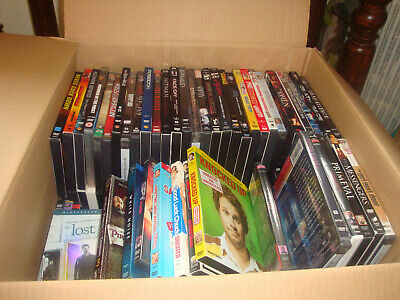 DVDs about 140 NTSC Region 1 mixed joblot bundle Films about 70% new and sealed