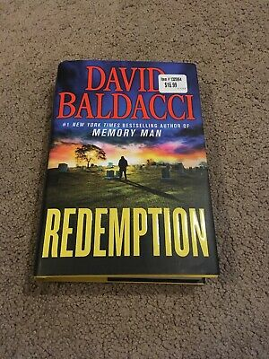 Redemption (Memory Man series) by David Baldacci HARDCOVER 2019, BRAND NEW