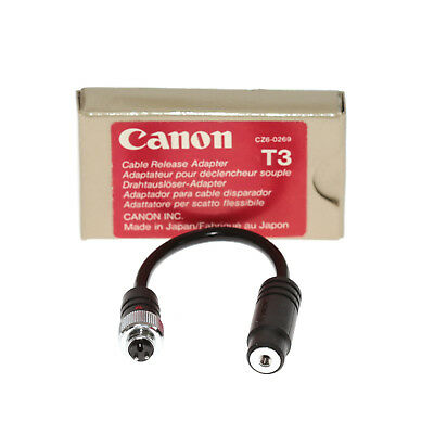 Canon Cable Release Adapter / Drahtauslöser-Adapter T3 vom Händler