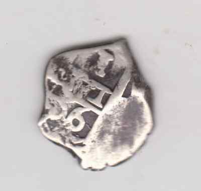 1666 Bolivia 1 Reales Silver  Spanish Colonial Cob