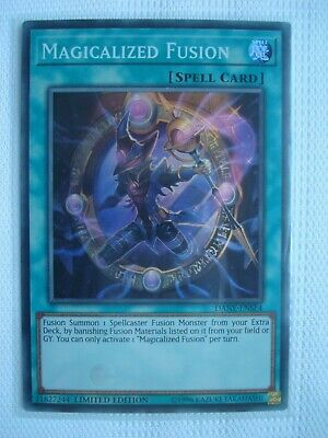 Magicalized Fusion Super Rare DANE-ENSE4 LIMITED EDITION Yu-Gi-Oh yugioh Card